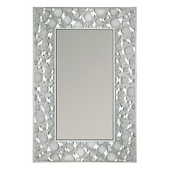 Head West Motion Circles Wall Mirror