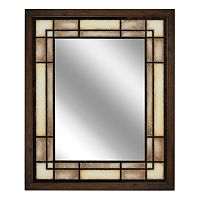 Head West Tea Glass Rectangle Mirror