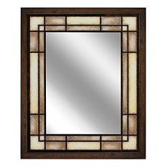 Head West Tea Glass Rectangle Mirror