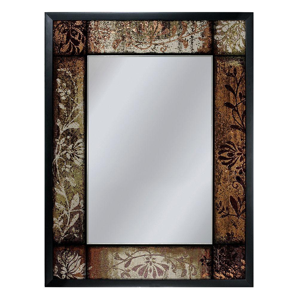 Head West Patchwork Wall Mirror