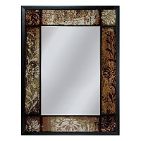 Head West Patchwork Wall Mirror