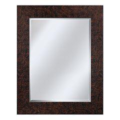 Head West Hammered Wall Mirror