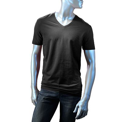 Rock and Republic Raw V-Neck Tee