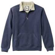 G.H. Bass Suede Fleece 1/4-Zip Sweatshirt