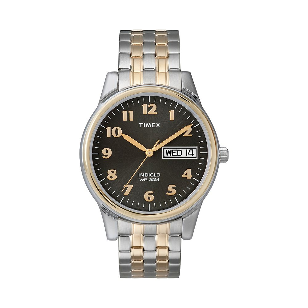 Timex® Men's Two Tone Expansion Watch - T26481