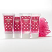 Simple Pleasures 4-pc. Polka-Dot Cherry Kiss Body Lotion Gift Set