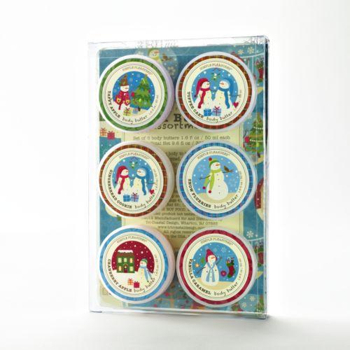 6-Pc. Snow Flurries Body Butter Gift Set