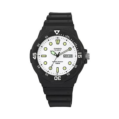 Casio Black Resin Sport Watch - MRW200H-7EV - Men