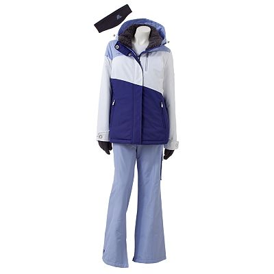 ZeroXposur Colorblock 4-in-1 Snowboard Jacket and Pants Set