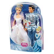 Disney Princess Cinderella Fairytale Wedding Doll Set by Mattel