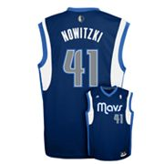 adidas Dallas Mavericks Dirk Nowitzki Jersey