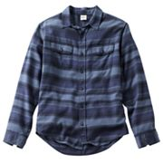Hang Ten Striped Button-Down Shirt - Men