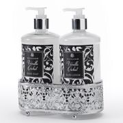 Simple Pleasures Vanilla Orchid Hand Soap & Hand Lotion Caddy Gift Set
