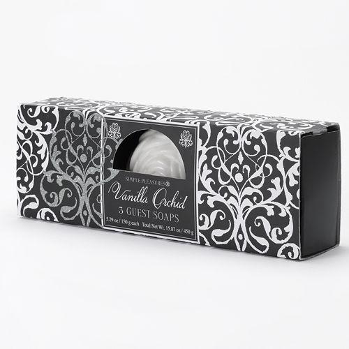 Simple Pleasures Vanilla Orchid Guest Soaps $ 6.60