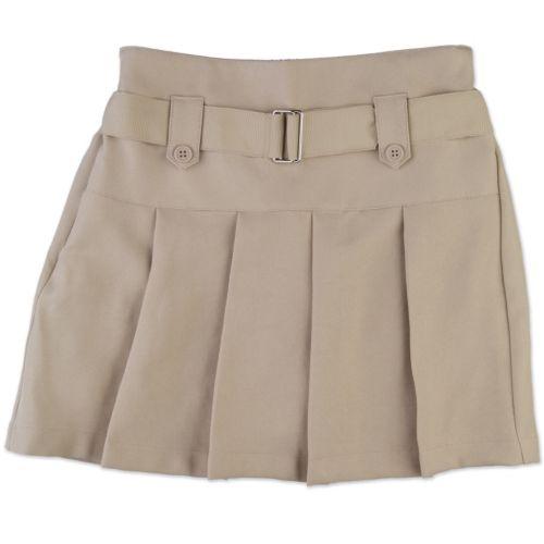 Chaps Twill Pleated School Uniform Scooter - Girls 4-6x