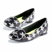 Princess Vera Wang Sequin Ballet Flats - Women