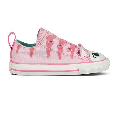 Converse Chuck Taylor All Star Simple Slip Meow Shoes - Toddlers