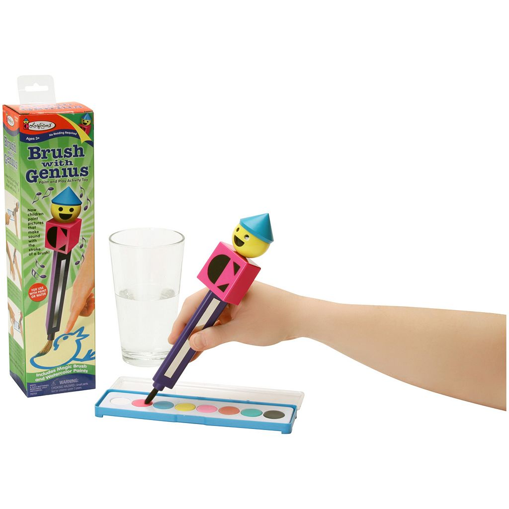 Colorforms Brush with Genius Paint and Play Activity Toy by University Games