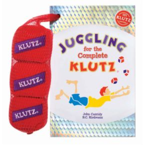 Klutz Juggling for the Complete Klutz Activity Book by University Games