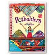 Klutz Potholders and Other Loopy Projects Activity Book by University Games