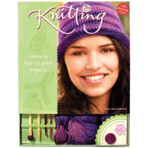 Klutz Knitting Activity Book by University Games