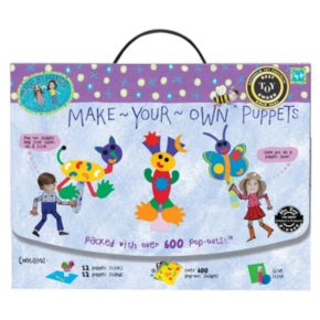 Made By Hands Make Your Own Puppets by University Games