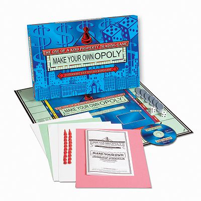 TDC Games Make Your Own-OPOLY by University Games