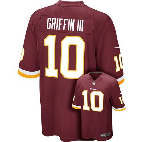 great fit 39279 755a0 Men's Nike Washington Redskins Robert Griffin III Game NFL ...