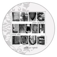 Thirstystone Live, Laugh, Love 4-pc. Coaster Set