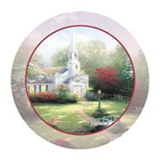Thirstystone Thomas Kinkade ''Hometown Chapel'' 4-pc. Coaster Set