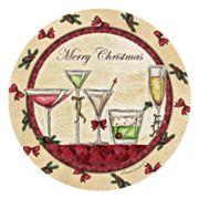 Thirstystone 'Merry Christmas' 4 pc Cocktail Coaster Set