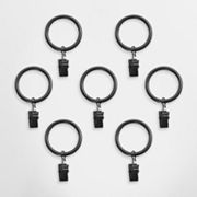 Montevilla 7-pk. Clip Curtain Rings