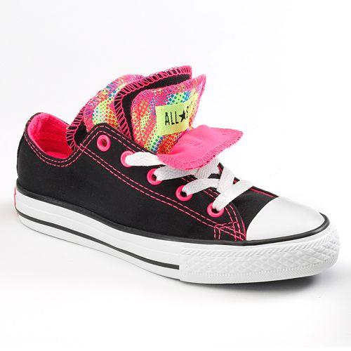 e65632b26b95 Kid s Converse Chuck Taylor All Star Multi-Tongue Neon Shoes