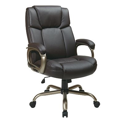 Office Star Products Eco-Leather Big Man's Executive Chair