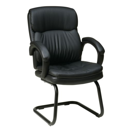 Office Star Products Eco-Leather Visitor's Chair