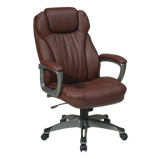 Office Star Products Eco-Leather Executive Chair