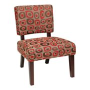 Office Star Products Avenue Six Jasmine Accent Chair