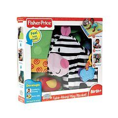 Fisher-Price Take-Along Play Blanket
