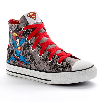 Converse Chuck Taylor Superman High-Top Shoes - Boys