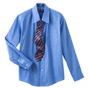 Chaps Button-Down Shirt and Tie Set - Boys 8-20