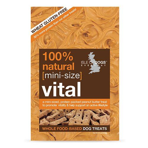 Isle Of Dogs Mini Vital Wheat Gluten Free Dog Treats