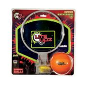 Franklin Lite Upz Illuminating Foam Basketball Set