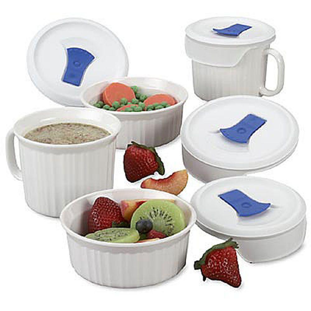 CorningWare 8 pc Pop Ins Mug Set