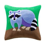 Olive Kids Camping Trip Decorative Pillow