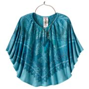 Knitworks Peace Medallion Sublimation Circle Top - Girls Plus