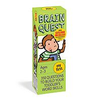 Brain Quest My First Card Deck