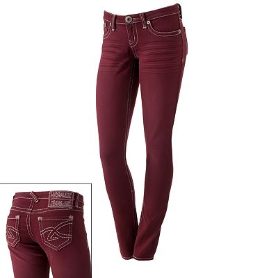 Hydraulic Color Skinny Jeans - Juniors