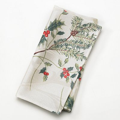 St. Nicholas Square Woodland Boughs 4-pk. Napkins