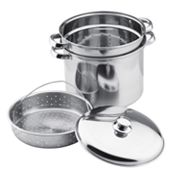 Vinaroz 4-pc. Stainless Steel Steamer Pot Set