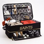 New Orleans Saints Expandable Golf Trunk Organizer